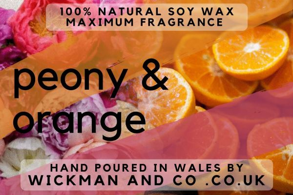 Peony & Orange Soy Wax Melt